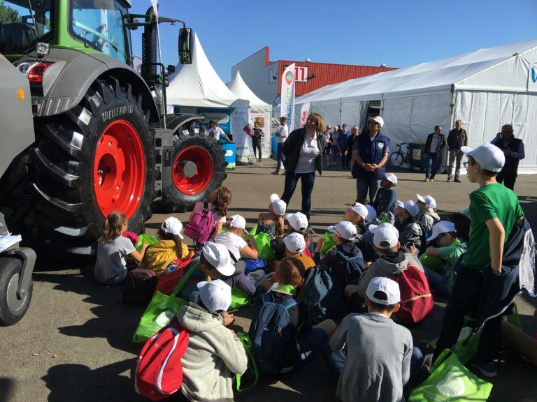 SPACE 2018 : 77 élèves à la rencontre des agriculteurs