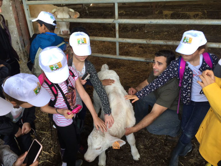 Fermes Ouvertes : les élèves à la rencontre de l'agriculture