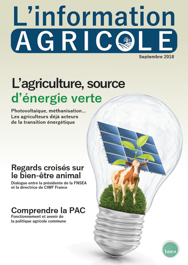 L'Information Agricole – septembre 2018