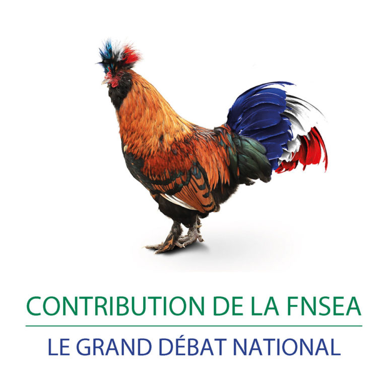 La contribution de la FNSEA au Grand débat national