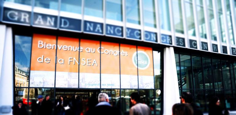 73e congrès de la FNSEA à Nancy du 26 au 28 mars 2019