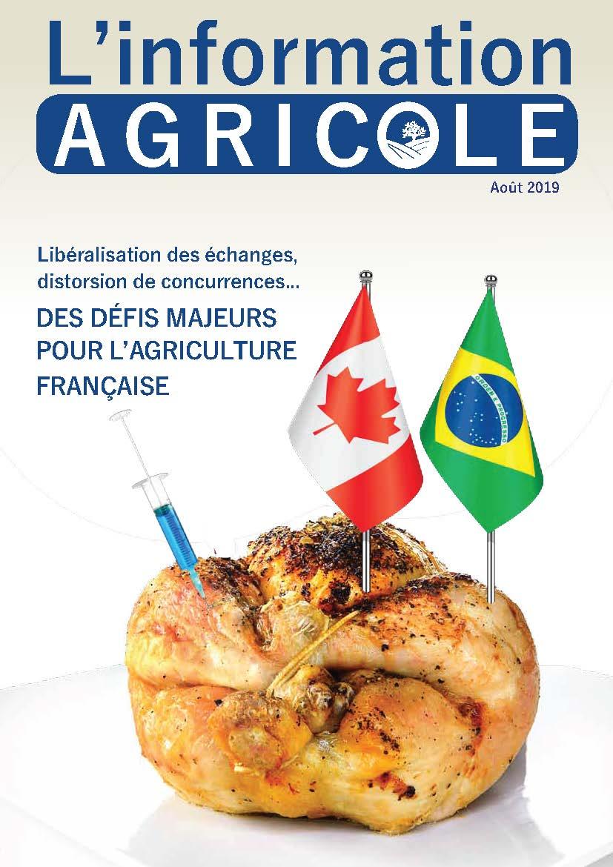 L'information Agricole – Août 2019