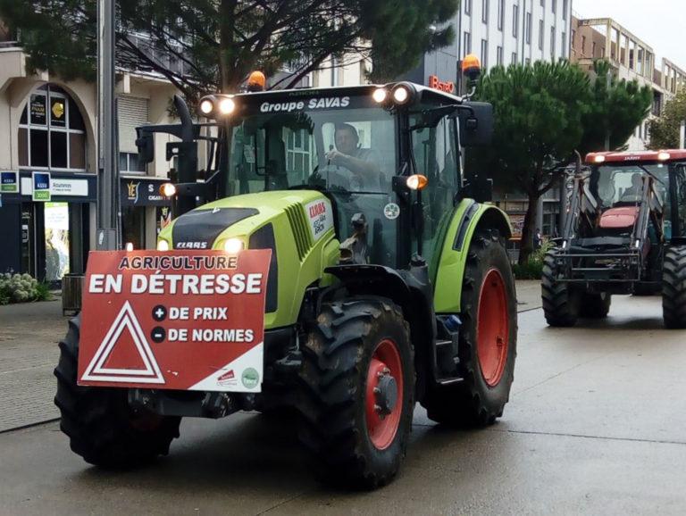 Mobilisation du monde agricole le 8 octobre