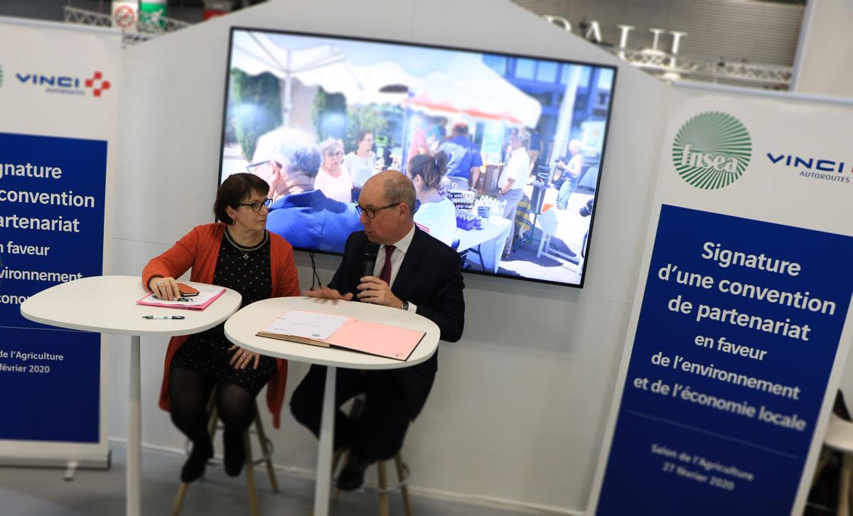 La FNSEA signe un partenariat avec VINCI Autoroutes