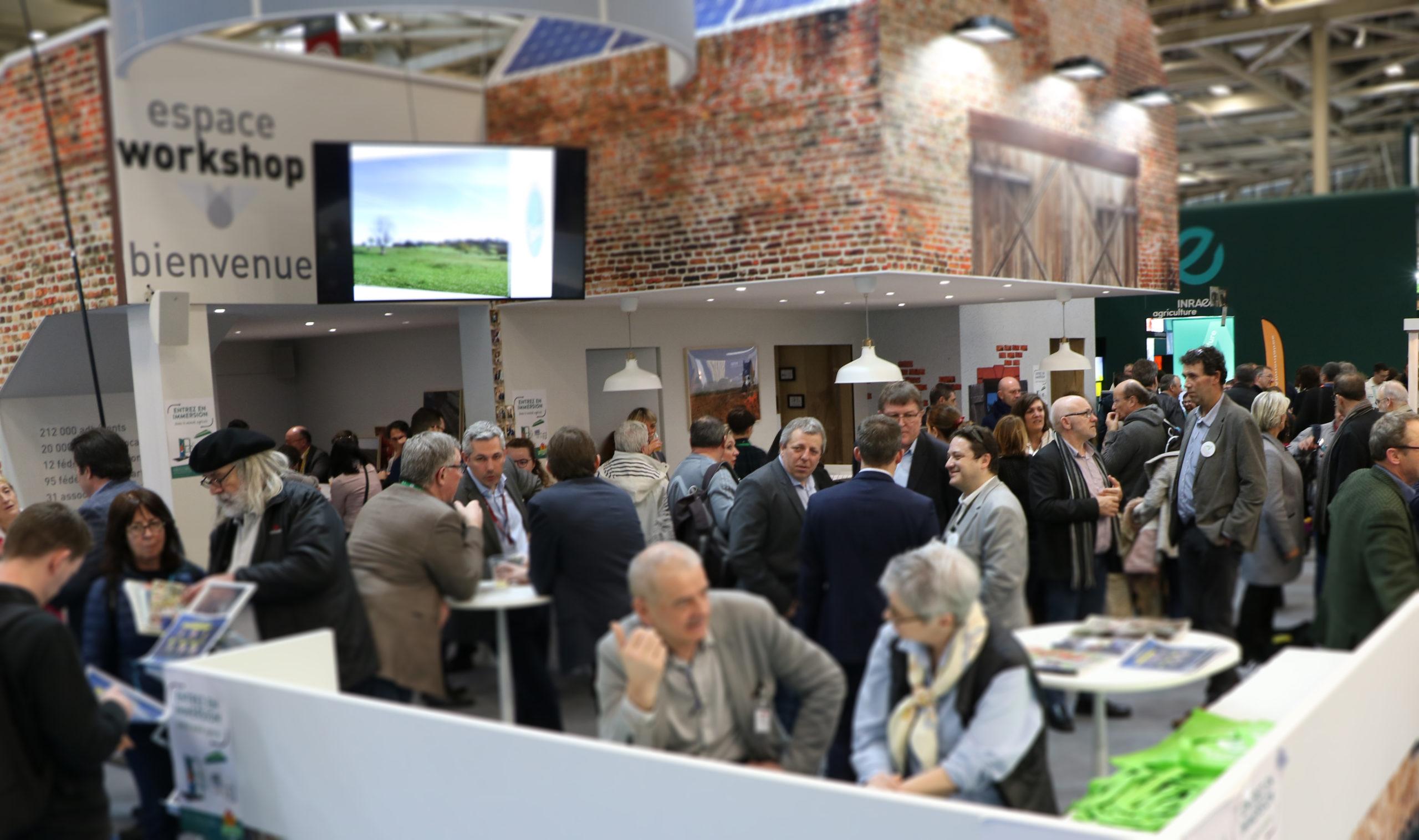 Salon de l'agriculture 2020 : un dialogue ouvert et confiant avec tous les publics.