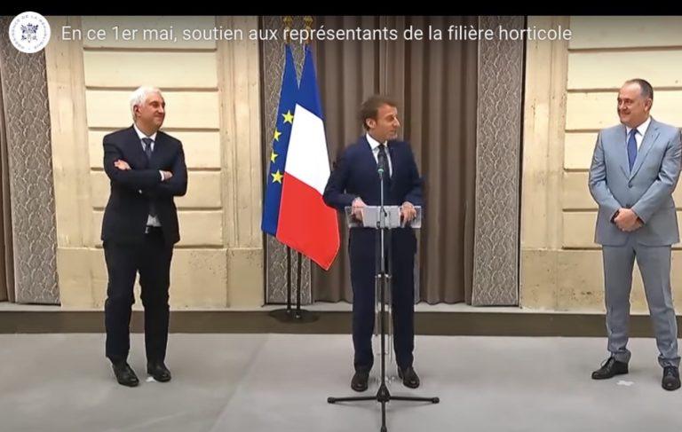 1er mai : Emmanuel Macron rend hommage au monde agricole