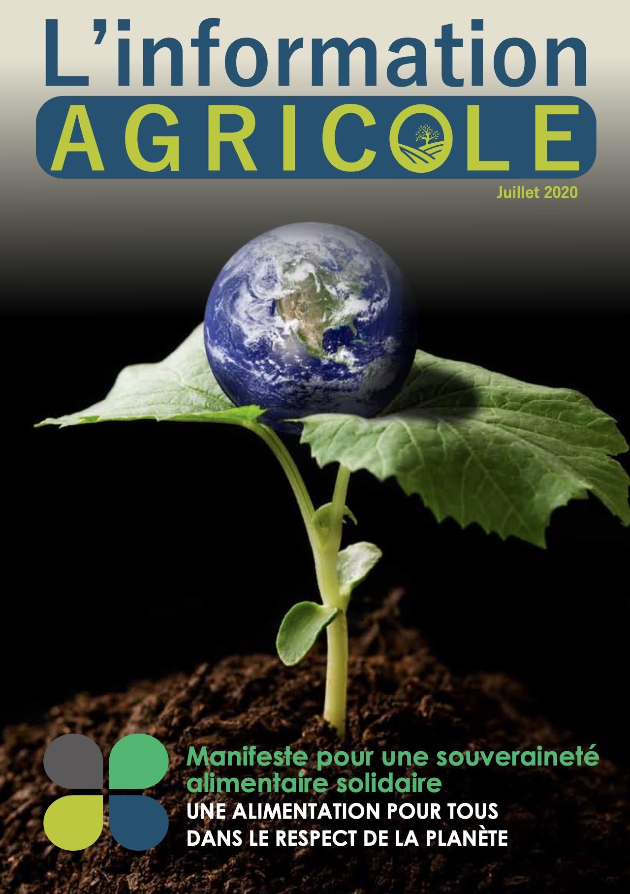 L'Information Agricole – Juillet 2020