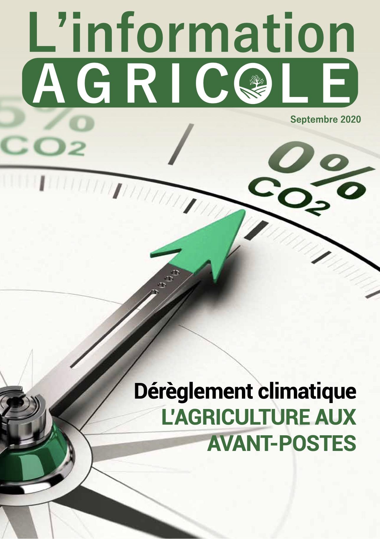 L'Information Agricole – Septembre 2020
