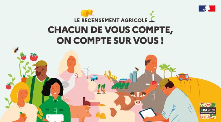 Lancement de la campagne pour le recensement agricole