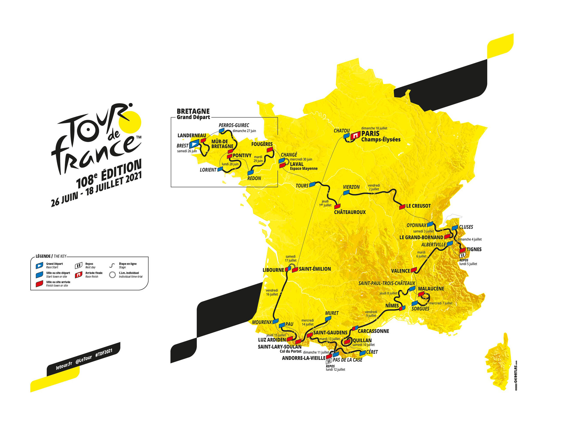 Tour de France 2021 : champ d'expression pour l'agriculture
