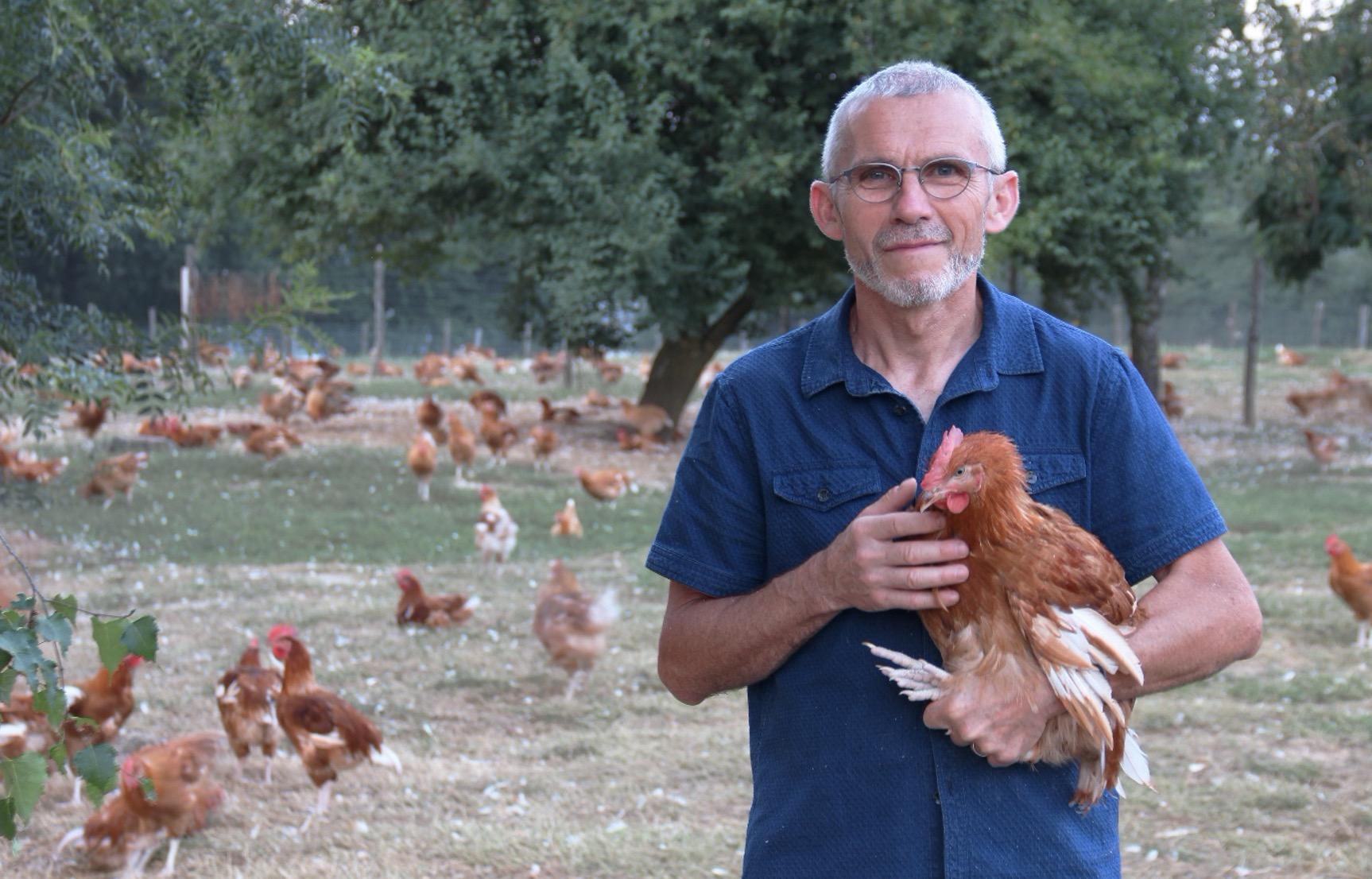 [#MangerFrançais] Eric Cachan, producteur de volaille en Sarthe