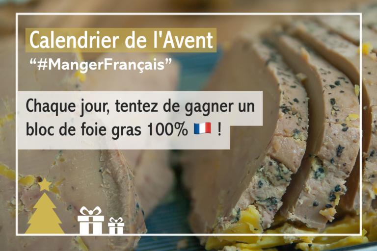 #JeuConcours : «le calendrier de l'Avent #MangerFrançais»
