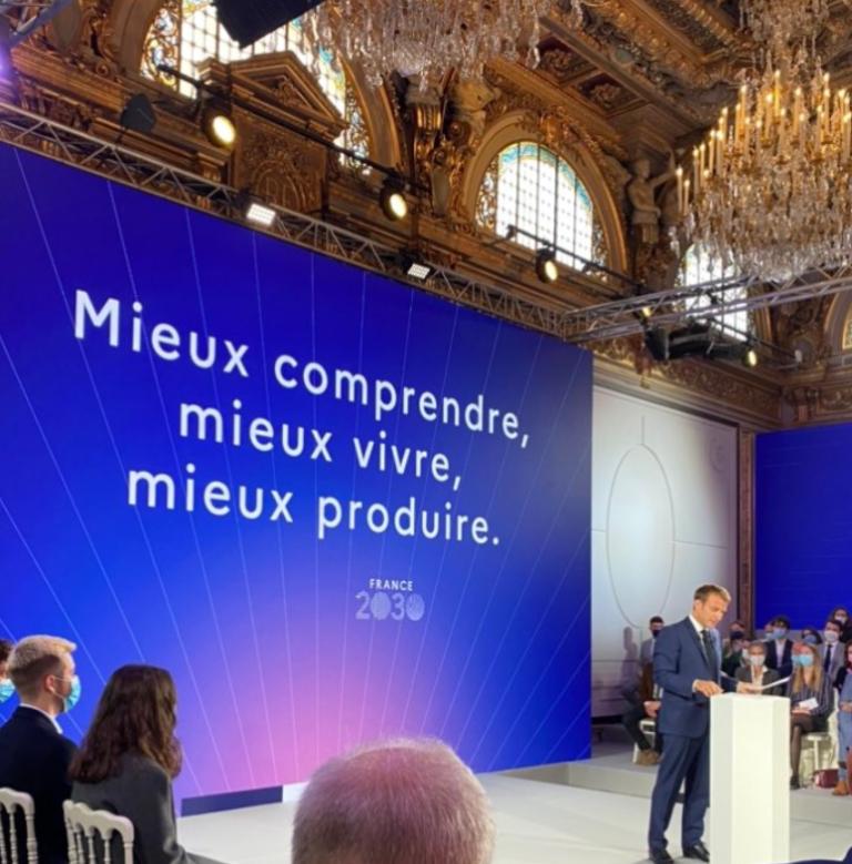 «Si l'on veut une industrie bas carbone, l'agriculture est un secteur de solutions» France 2030 – Retour sur les annonces du Président de la République